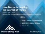 151 advisors, connected devices, context aware, data visualization, Denver Startup Week, embedded, enterprise wireless, greentech, internet of things, iot, lamberth, m2m, machineshopio, mobile devices, sensors, smart home